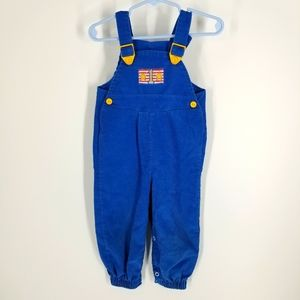 Buster Brown 18 Month Blue Corduroy Overalls One 1